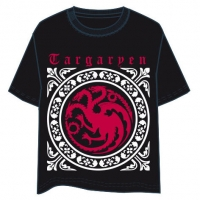 Game of Thrones - T-Shirt - House Targaryen -  Cotone - Prodotto Ufficiale HBO