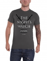 Game of Thrones - T-Shirt The Nights Watch - Prodotto Ufficiale HBO