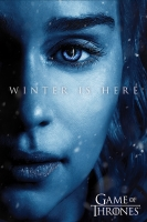 Game of Thrones - Poster Daenerys winter is here - Prodotto Ufficiale HBO