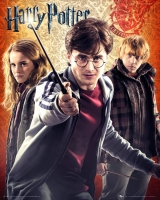 Poster - Harry Potter 7 Trio