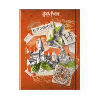 Harry Potter - Cartellina a 3 lembi Hogwarts - Prodotto ufficiale © Warner Bros. Entertainment Inc.