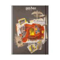 Harry Potter - Cartellina a 3 lembi Scale di Hogwarts - Prodotto ufficiale © Warner Bros. Entertainment Inc.