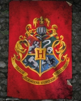 Storia e Magia - Harry Potter - Mini Poster - Hogwarts Flag - Ufficiale