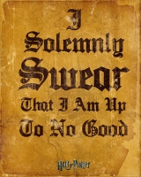 Storia e Magia - Harry Potter - Mini Poster - Solemnly Swear - Ufficiale