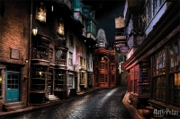Harry Potter - Poster Diagon Alley - Prodotto ufficiale Warner Bros