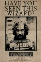 Storia e Magia - Harry Potter - Poster - Sirius Black Wanted - Ufficiale