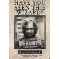 Harry Potter - Poster Sirius Black Wanted - Prodotto Ufficiale Warner Bros.