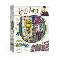 Harry Potter - Puzzle 3D Diagon Alley - Madam Malkin - Prodotto Ufficiale Warner Bros.