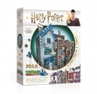 Harry Potter - Puzzle 3D Diagon Alley - Olivander - Prodotto Ufficiale Warner Bros.