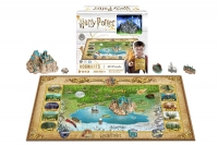 Harry Potter - Puzzle 4D Puzzle The Wizarding World - 500 pezzi - Prodotto Ufficiale Warner Bros.
