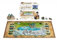 Harry Potter - Puzzle 4D Puzzle The Wizarding World - 800 pezzi - Prodotto Ufficiale Warner Bros.