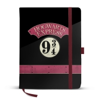 Harry Potter - Quaderno Hogwarts Express - Prodotto Ufficiale Warner Bros