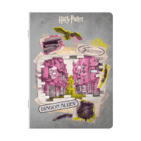 Harry Potter - Quaderno Maxi Diagon Alley - Prodotto ufficiale © Warner Bros. Entertainment Inc.