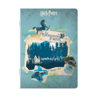 Harry Potter - Quaderno maxi Foresta Proibita - Prodotto ufficiale © Warner Bros. Entertainment Inc.