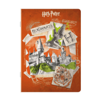 Harry Potter - Quaderno maxi Hogwarts - Prodotto ufficiale © Warner Bros. Entertainment Inc.