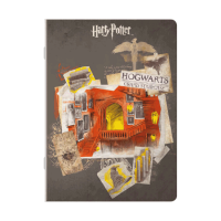 Harry Potter - Quaderno maxi Scale di Hogwarts - Prodotto ufficiale © Warner Bros. Entertainment Inc.