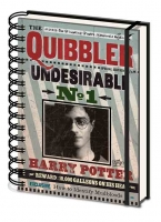Harry Potter - Quaderno Quibbler - Undesirable N1 - Indesiderabile - Ufficiale - Noble Collection