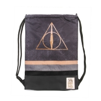 Harry Potter - Sacca Storm Deathly Hallows - Prodotto Ufficiale Warner Bros.