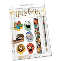 Harry Potter - Set Cartoleria Rubbers Express - Prodotto ufficiale © Warner Bros. Entertainment Inc.
