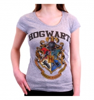 Harry Potter - T-Shirt Donna Hogwarts - Prodotto ufficiale © Warner Bros. Entertainment Inc.