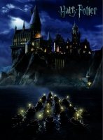 Harry Potter - Tela - Castello Di Hogwarts - Ufficiale