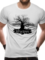Harry Potter - T-Shirt Always - Cotone - Prodotto ufficiale © Warner Bros. Entertainment Inc.