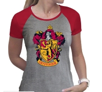 Harry Potter - T-Shirt donna Stemma Grifondoro