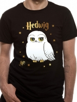 Harry Potter - T-Shirt Edvige - Cotone - Prodotto Ufficiale Warner Bros.