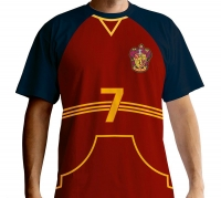Harry Potter - T-Shirt Capitano Grifondoro Quidditch - Prodotto ufficiale © Warner Bros. Entertainment Inc.