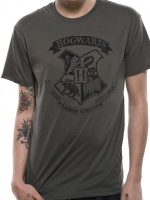 Harry Potter - T-Shirt Hogwarts - Cotone -Prodotto Ufficiale Warner Bros.