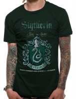 Harry Potter - T-Shirt Serpeverde - Prodotto ufficiale © Warner Bros. Entertainment Inc.
