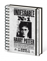 Harry Potter - Undesirable N°1 Notebook ad anelli - A5
