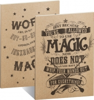 Harry Potter - Set 2 Quaderni - Magic - Formato A5 - Righe