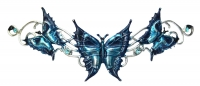 Anne Stokes - Tiara Needfire Butterfly