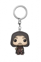 Lord Of The Rings - Funko POP Portachiavi Aragorn - Prodotto Ufficiale New Line Cinema e Funko