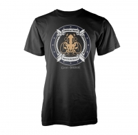 Game of Thrones - T-Shirt Iron Born - Cotone - Prodotto ufficiale © HBO