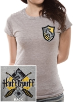 Harry Potter - T-shirt Donna Stemma Tassorosso - Prodotto ufficiale © Warner Bros. Entertainment Inc.