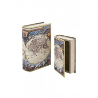 Antichi Strumenti Scientifici - Mapa mundi - Book  Box - Grande