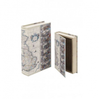 Antichi Strumenti Scientifici - Mapa Mundi - Book Box - Piccolo