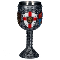 Medievale - Calice English Goblet - Resina - Interno acciaio smontabile