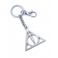 Harry Potter - Gadgets - Portachiavi Doni della Morte in silver plated