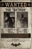 Poster - Batman Wanted