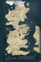 Game of Thrones - Poster Westeros