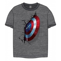 Captain America - T-Shirt Scudo