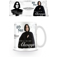 Harry Potter - Gadget - Tazza Severus Piton - Always - Ufficiale