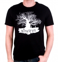 Harry Potter - T-Shirt Always - Prodotto ufficiale © Warner Bros. Entertainment Inc.