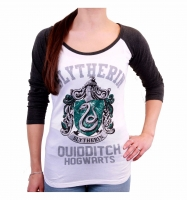 Harry Potter - T-Shirt Donna Serpeverde Quidditch - Prodotto ufficiale © Warner Bros. Entertainment Inc.