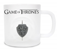 Game of Thrones - Tazza Stemma 3D Lannister - bianca